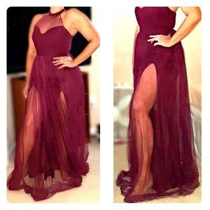 Fashion Nova Tulle Dress Tags Still On Dress!!